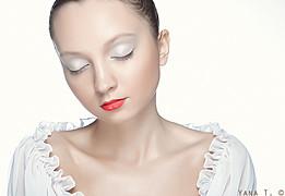 Natalia Gautier model (модель). Photoshoot of model Natalia Gautier demonstrating Face Modeling.Face Modeling Photo #70663
