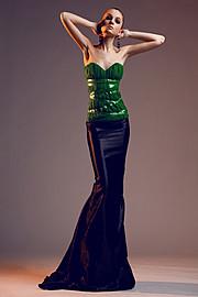 Natalia Gautier model (модель). Photoshoot of model Natalia Gautier demonstrating Fashion Modeling.Evening DressFashion Modeling Photo #70666