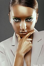 Natalia Gautier model (модель). Photoshoot of model Natalia Gautier demonstrating Face Modeling.Face Modeling Photo #70667