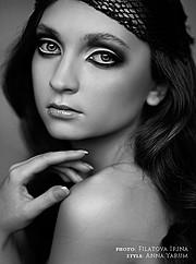 Natalia Gautier model (модель). Photoshoot of model Natalia Gautier demonstrating Face Modeling.Face Modeling Photo #70668