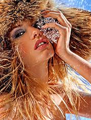 Natalia Gynku model (Наталия Гынку модель). Photoshoot of model Natalia Gynku demonstrating Face Modeling.Face Modeling Photo #54226