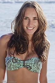 Natalia Raurell model. Photoshoot of model Natalia Raurell demonstrating Face Modeling.Face Modeling Photo #120494