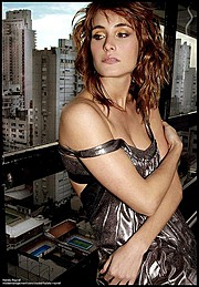 Natalia Raurell model. Photoshoot of model Natalia Raurell demonstrating Face Modeling.Face Modeling Photo #120518