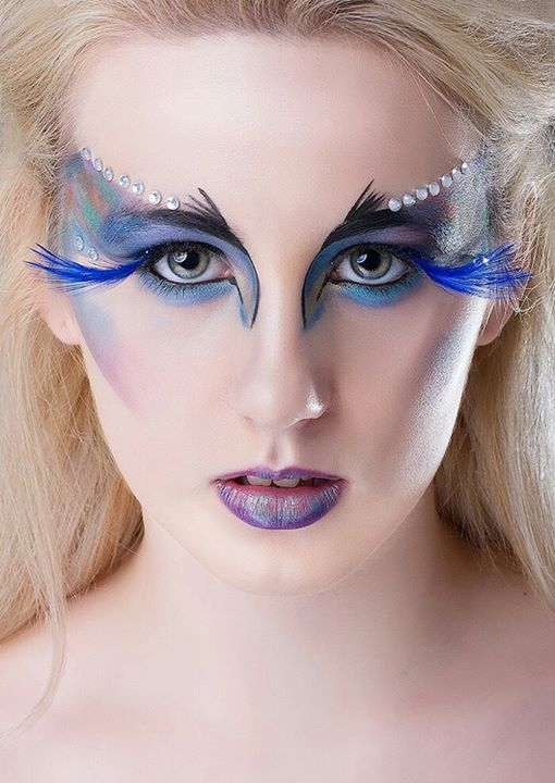Natalie Mckee makeup artist & hair stylist. Work by makeup artist Natalie Mckee demonstrating Creative Makeup.Makeup Artist- Natalie McKeePhotographer- Bradley PhotographyModel- Sarah Louise GrahamEyelash ExtensionsPortrait Photography,Creative Mak