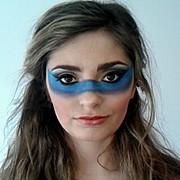 Natalie Mckee makeup artist & hair stylist. Work by makeup artist Natalie Mckee demonstrating Creative Makeup.Creative Makeup Photo #94725