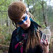 Natalie Mckee makeup artist & hair stylist. Work by makeup artist Natalie Mckee demonstrating Creative Makeup.Creative Makeup Photo #94732