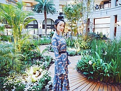 Natalie Tien model. Photoshoot of model Natalie Tien demonstrating Face Modeling.Face Modeling Photo #120269