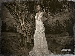 Natasa Nicolaou (Νατάσα Νικόλαου) model. Photoshoot of model Natasa Nicolaou demonstrating Fashion Modeling.Photographers : Yioli AristotelousWedding Dresses: Calia Monoyiou Atelier Art Director: Notis PanPanStyling: Constantinos SeniorFlowers & De
