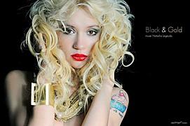 Natasha Legeyda model (modella). Photoshoot of model Natasha Legeyda demonstrating Face Modeling.Face Modeling Photo #96878