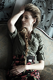 Natasha Portier model (модель). Photoshoot of model Natasha Portier demonstrating Face Modeling.Face Modeling Photo #74282