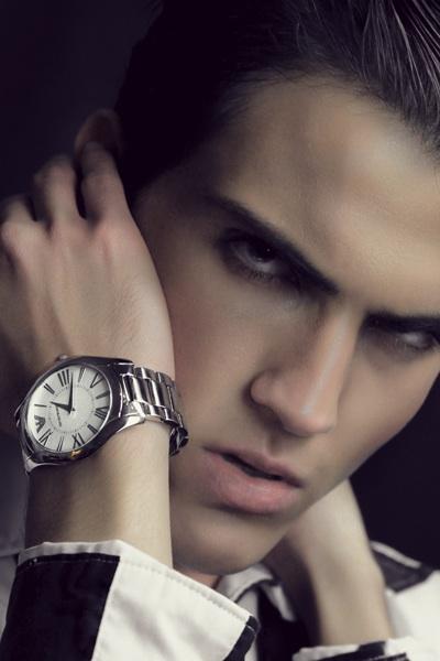 Nattan Pires model. Photoshoot of model Nattan Pires demonstrating Face Modeling.Face Modeling Photo #96736