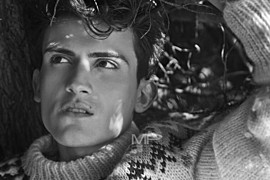 Nattan Pires model. Photoshoot of model Nattan Pires demonstrating Face Modeling.Face Modeling Photo #96738