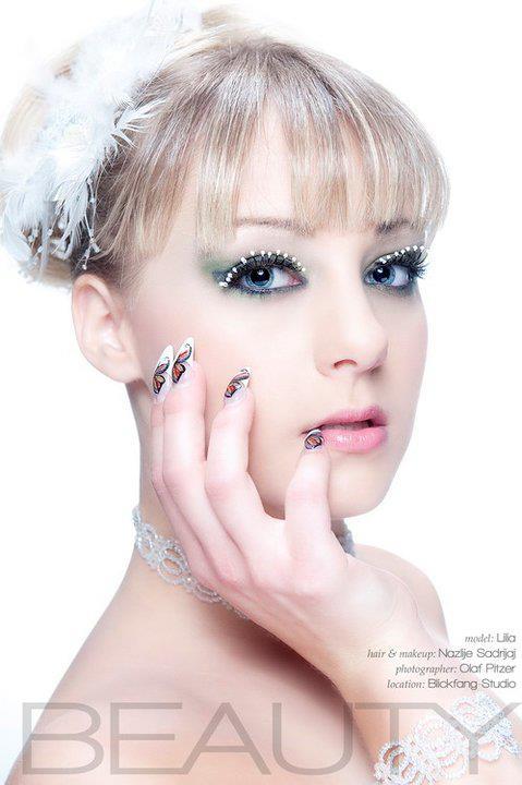 Nazlije Sadrijaj makeup artist (visagist). Work by makeup artist Nazlije Sadrijaj demonstrating Beauty Makeup.Beauty Makeup Photo #70708