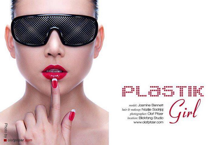 Nazlije Sadrijaj makeup artist (visagist). Work by makeup artist Nazlije Sadrijaj demonstrating Beauty Makeup.Beauty Makeup Photo #70717
