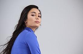 Negin Sadeghisisan model. Photoshoot of model Negin Sadeghisisan demonstrating Face Modeling.Face Modeling Photo #172651