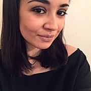 Nektaria Kontou model (μοντέλο). Photoshoot of model Nektaria Kontou demonstrating Face Modeling.Face Modeling Photo #177001