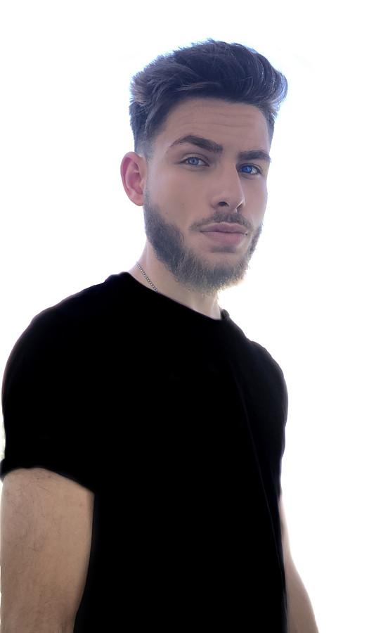 Nektarios Mastoris model (Νεκτάριος Μάστορης μοντέλο). Photoshoot of model Nektarios Mastoris demonstrating Face Modeling.Face Modeling Photo #223357