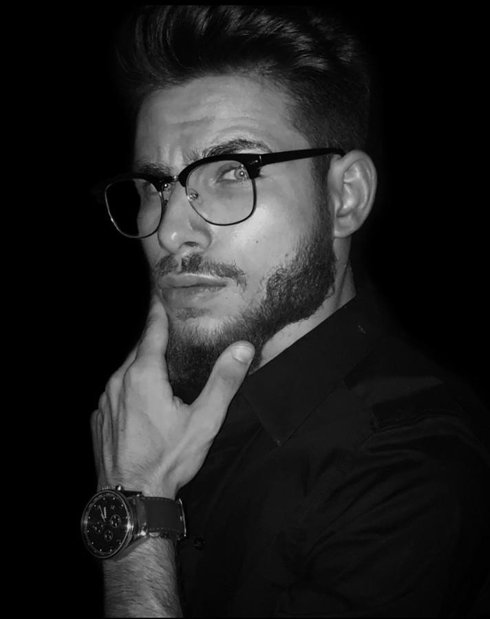 Nektarios Mastoris model (Νεκτάριος Μάστορης μοντέλο). Photoshoot of model Nektarios Mastoris demonstrating Face Modeling.Face Modeling Photo #225294