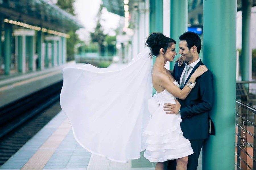 Nella Ioannou fashion designer (σχεδιαστής μόδας). design by fashion designer Nella Ioannou.Wedding Gown Design Photo #113251