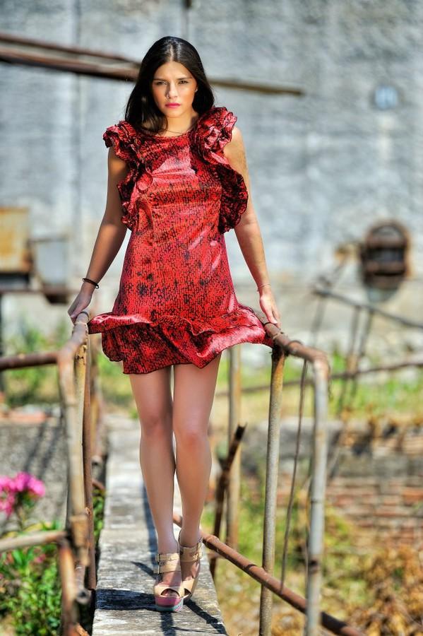 Nella Ioannou fashion designer (σχεδιαστής μόδας). design by fashion designer Nella Ioannou. Photo #113257