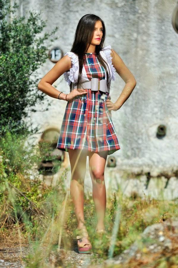 Nella Ioannou fashion designer (σχεδιαστής μόδας). design by fashion designer Nella Ioannou.Photographer  Nikos PsathoyiannakisMini Dress Design Photo #113258