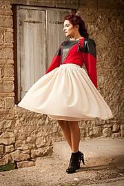 Nella Ioannou fashion designer (σχεδιαστής μόδας). design by fashion designer Nella Ioannou.Evening Dress Design Photo #113263
