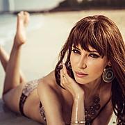 Nesrin Sanad model & actress. Photoshoot of model Nesrin Sanad demonstrating Face Modeling.Face Modeling Photo #122851