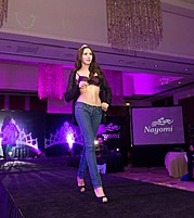 Nesrin Sanad model & actress. Photoshoot of model Nesrin Sanad demonstrating Runway Modeling.Runway Modeling Photo #122858