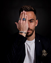 Nick Asimakopoulos model (μοντέλο). Photoshoot of model Nick Asimakopoulos demonstrating Fashion Modeling.Fashion Modeling Photo #230833