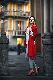 Nicole Dary model (modella). Nicole Dary demonstrating Fashion Modeling, in a photoshoot by Luca Foscili.photographer: Luca FosciliFashion Modeling Photo #180295