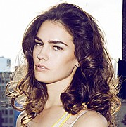 Nicole Domecus model. Photoshoot of model Nicole Domecus demonstrating Face Modeling.Face Modeling Photo #126374