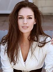Nicole Domecus model. Photoshoot of model Nicole Domecus demonstrating Face Modeling.Face Modeling Photo #126382