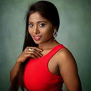 Nikita Gokhale model. Photoshoot of model Nikita Gokhale demonstrating Face Modeling.Face Modeling Photo #212339