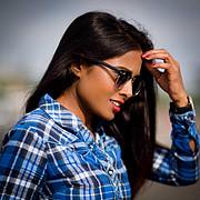 Nikita Gokhale model. Photoshoot of model Nikita Gokhale demonstrating Face Modeling.Face Modeling Photo #212343
