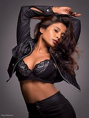 Nikita Gokhale model. Photoshoot of model Nikita Gokhale demonstrating Face Modeling.Face Modeling Photo #212336
