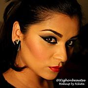 Nikita Sharma makeup artist. Work by makeup artist Nikita Sharma demonstrating Beauty Makeup.Beauty Makeup Photo #100812