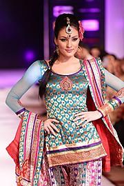 Nikita Sharma makeup artist. Work by makeup artist Nikita Sharma demonstrating Runway Makeup.Runway Makeup Photo #99777