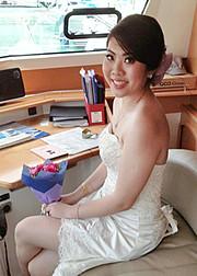 Nikki Fu makeup artist. Work by makeup artist Nikki Fu demonstrating Bridal Makeup.Bridal Makeup Photo #100799