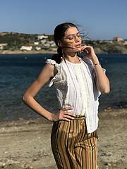 Nikoleta Drougka makeup artist (Νικολέτα Δρούγκα μακιγιέρ). Work by makeup artist Nikoleta Drougka demonstrating Fashion Makeup.Fashion Makeup Photo #203871