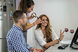 Nikoleta Drougka makeup artist (Νικολέτα Δρούγκα μακιγιέρ). makeup by makeup artist Nikoleta Drougka. Photo #207021