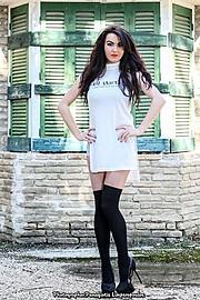 Nikoleta Kalogianni model (Νικολέτα Καλογιάννη μοντέλο). Nikoleta Kalogianni demonstrating Fashion Modeling, in a photoshoot by Panagiotis Limperopoulos.Photographer: Panagiotis LimperopoulosFashion Modeling Photo #167392