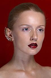 Nikolina Begovac model. Photoshoot of model Nikolina Begovac demonstrating Face Modeling.Face Modeling Photo #192906