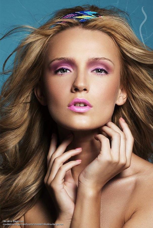 Nikolina Begovac model. Photoshoot of model Nikolina Begovac demonstrating Face Modeling.Face Modeling Photo #129267