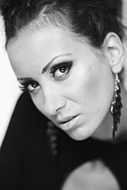Nina Brankina model (модел). Photoshoot of model Nina Brankina demonstrating Face Modeling.Face Modeling Photo #95267