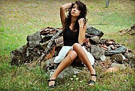 Noemi Straforini model (modella). Photoshoot of model Noemi Straforini demonstrating Fashion Modeling.Fashion Modeling Photo #92356