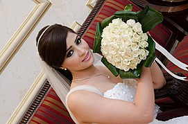 Noha Abed makeup artist. Work by makeup artist Noha Abed demonstrating Bridal Makeup.Bridal Makeup Photo #111435