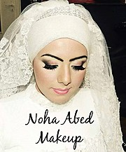 Noha Abed makeup artist. Work by makeup artist Noha Abed demonstrating Bridal Makeup.Bridal Makeup Photo #111447