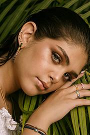 Noha Elhalawany makeup artist. Modeling work by model Leila Ezzat.photography by lemohsenstyling Taya bakhoumagency Lamba client House of selectmodel leila ezzat Photo #212542