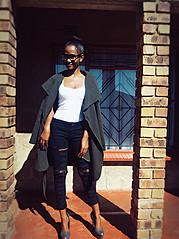 Nomfundo Nonduduzo model. Photoshoot of model Nomfundo Nonduduzo demonstrating Fashion Modeling.Fashion Modeling Photo #186423