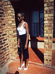 Nomfundo Nonduduzo model. Photoshoot of model Nomfundo Nonduduzo demonstrating Fashion Modeling.Fashion Modeling Photo #186425